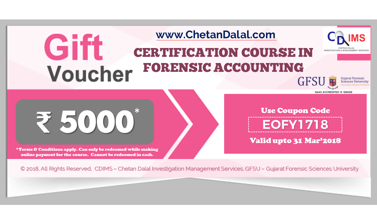 CDIMS Forensic Accounting Discount